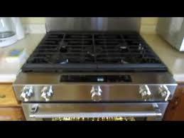 slide kitchenaid gas range stainless steel