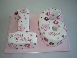 Number Birthday Cakes 8 Pink Number 16 Birthday Cakes Photo Sweet 16