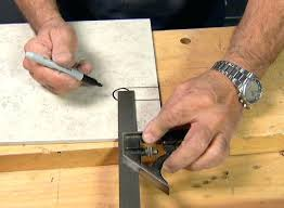 cutting ceramic tile with dremel how to cut ceramic how to make holes in ceramic tile