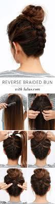 Cool And Easy Diy Hairstyles Reversed