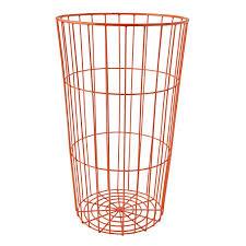 flea market wire ball bin (grey)  the land of nod