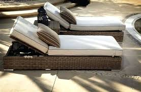 indoor wicker chaise lounge wicker furniture just for outdoors it looks great inside as indoor rattan