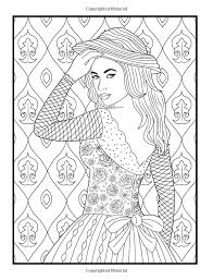 Small Picture 589 best coloriages girly images on Pinterest Coloring books
