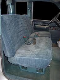 standard cab seat interchange years
