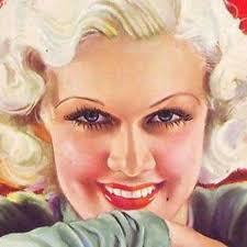 jean harlow made the painted eyebrow look por for a time colored nail polish became more and more por so much so that lips and nails were