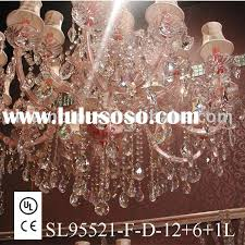 2016 pink rose golden crystal chandelier hot