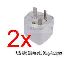 2 US United States UK EU- <b>AU Australia</b> NZ <b>CN Power</b> Plug Adapter ...