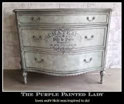image stencils furniture painting. The Purple Painted Lady General Finishes Glaze High Performance Chalk Paint Nicki Whole Dresser Image Stencils Furniture Painting
