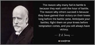 God Quote Amazing TOP 48 QUOTES BY R A TORREY Of 48 AZ Quotes