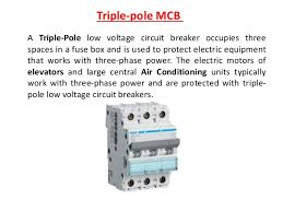 low voltage circuit breaker 18