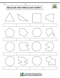 this is the related images of What Is An Irregular Shape