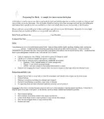 The Bump Birth Plan C Section Birth Plan Template The Bump Birth Plan Template