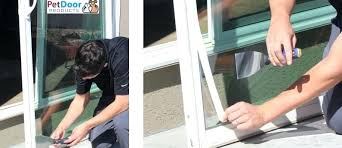 glass pet door installation step 1 pet door installation dog door installation pet door s glass