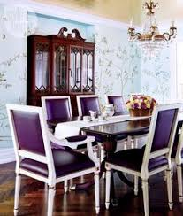 a magical home makeover purple dining roomsgold