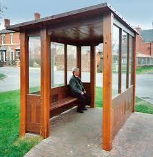Sheffield wooden shelter