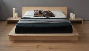 unfinished bed frame. Interesting Bed Solid And Unfinished Wood Platform Bed Frame With Headboard In Modern Style  A Pair Of To Unfinished Bed Frame L
