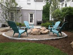 Unique Patio Designs With Fire Pit Pits Ideas Traditional Adirondack Chairs Backyard And Design