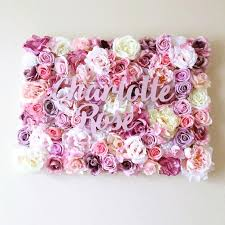 girls bedroom decor flower wall panel