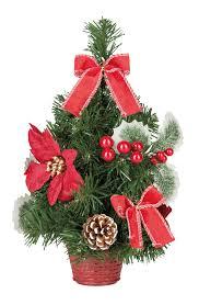 Dekobaum Weihnachtsbaum Mit Weihnachtsstern Höhe Ca 30cm