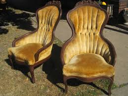 Pair of beautiful Victorian parlor chairs for sale