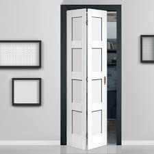 rare white interior door shaker white primed panel bifold door doors interior door and