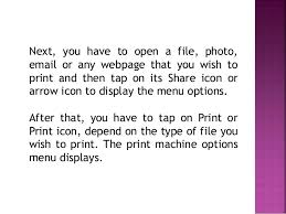How Can I Print From My Iphone 6 To A Wireless Printer