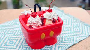Enjoy A Mickey Themed Treat For National Ice Cream Day Disney