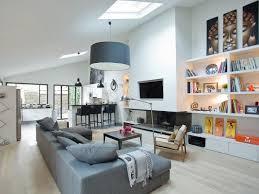 Perfect Salon Salle à Manger Moderne Avec Parquet Clair