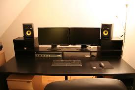 the finished desk