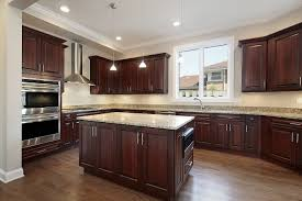 Kitchen Floor Cupboards Entrancing Dark Wood Kitchen White And Dark Wood Kitchen Table