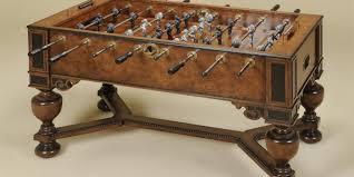 antique foosball tables