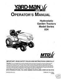 mtd riding mower parts yardman riding mower