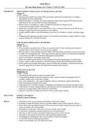 Buyer Resume Sample Operational Buyer Resume Samples Velvet Jobs 22