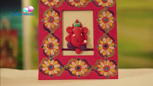 learn how to make an awesome super dough relief ganpati hobby ideas india