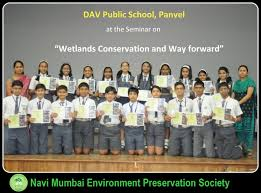 navi mumbai environment preservation society wetland day essay dav panvel 2