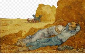 musxe9e dorsay provence van gogh self portrait the siesta after millet painting oil on the valley of the farmers