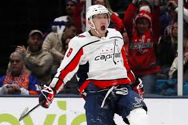 Alex ovechkin of the washington capitals skates during an nhl game against the buffalo sabres on march 9, 2020 at keybank center in buffalo, new york. Alex Ovechkin Sinks Islanders With His Second Straight Hat Trick