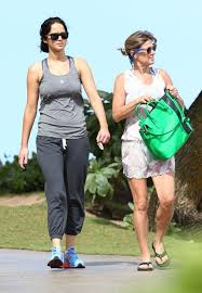 Jennifer Lawrence in Hawaii with her family where she will resume shooting  Catching Fire 132795 ...