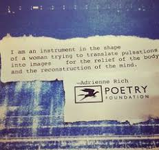 Adrienne Rich on Pinterest | Rich Quotes, Poem and Diving via Relatably.com