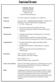 Types Of Resumes Beauteous Type Of Resume Kenicandlecomfortzone
