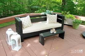 modern outdoor diy sofa free build plans