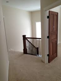 does stained doors with white moldings work