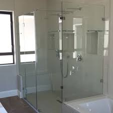 frameless safety glass shower doors in cape town
