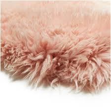 royal dream large sheepskin rug heavenly pink image 6