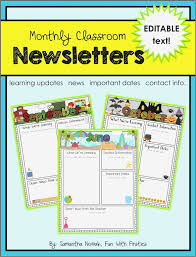 School Newsletter Template For Word Newsletter Templates Microsoft Word Free Download Subscription