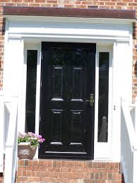 front door window coverBlack Front Doors With Glass Examples Ideas  Pictures  megarct