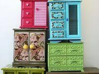 Мебель: лучшие изображения (65) | Мебель, Мебель для кукол и ...