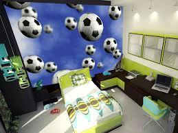 Soccer Bedroom Football Bedroom Boys Bedroom With Football Theme Football Wall