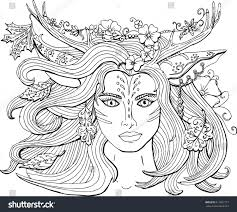 Vector Coloring Pages Adults Ornament Beautiful Stock Of Adult
