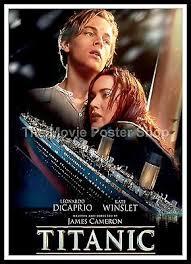 Romantic Movie Poster Titanic 11 Movie Posters Romance Classic Vintage Cinema Ebay